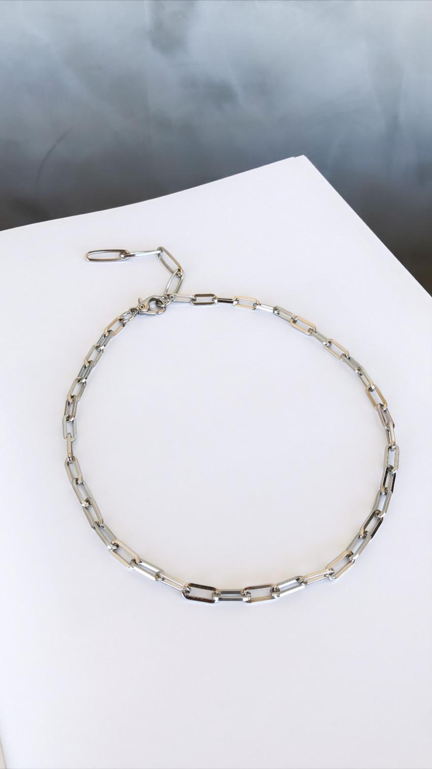 Colar Minimal Silver
