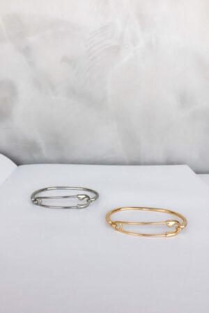 Bracelete Alfinete Gold