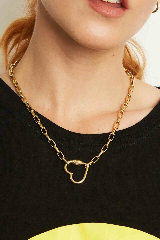 Colar Golden Heart
