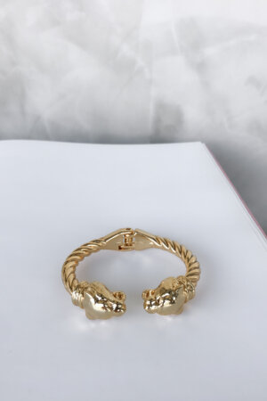 Bracelete Golden Lion