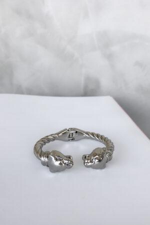 Bracelete Silver Lion