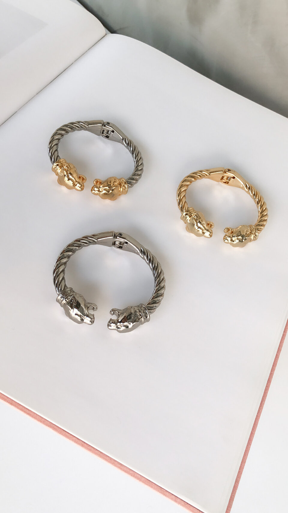 Bracelete Twist Lion