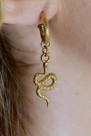 Brinco Golden Snake
