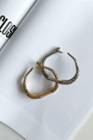 Bracelete Golden Snake