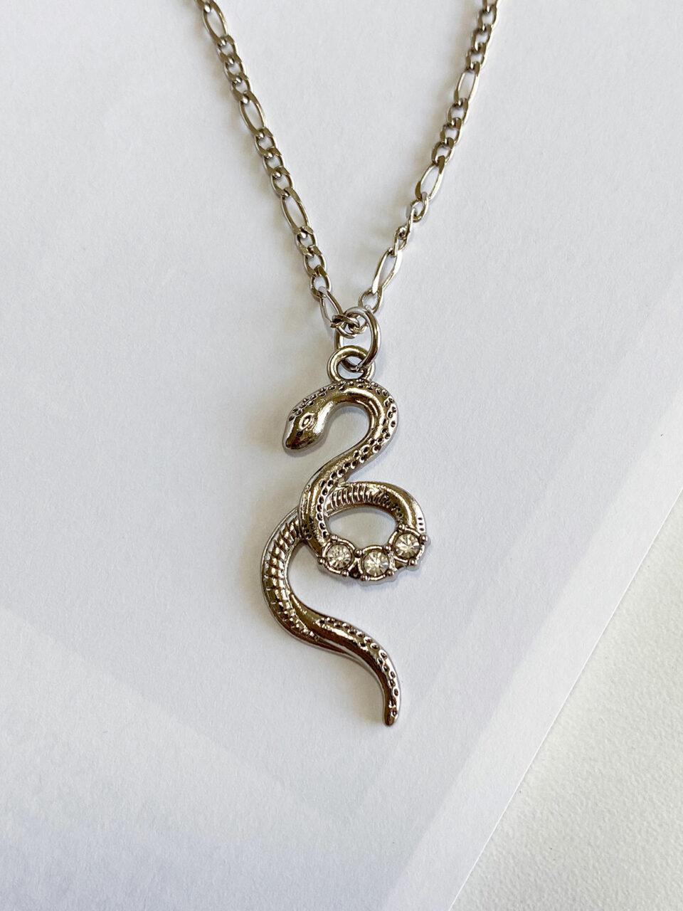 Colar Silver Snake