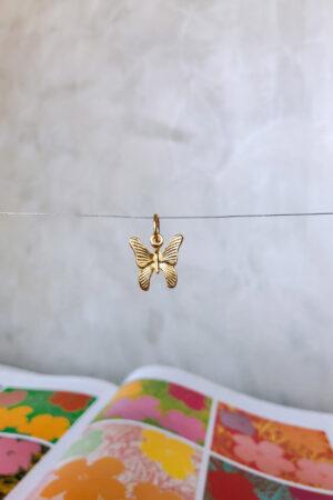 Pingente Golden Butterfly