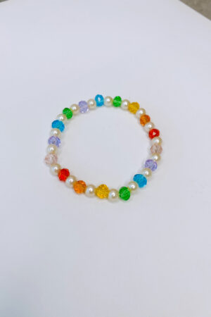 Pulseira Crystal Pearls