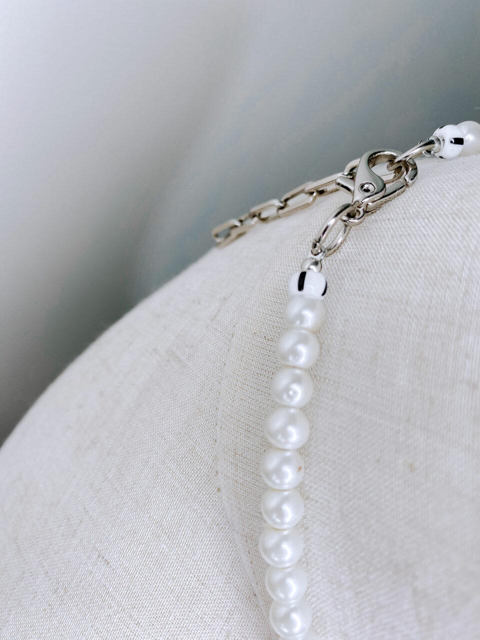 Colar Wire Pearls